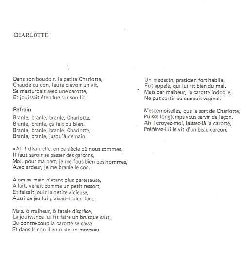 Chansons Et Hymnes